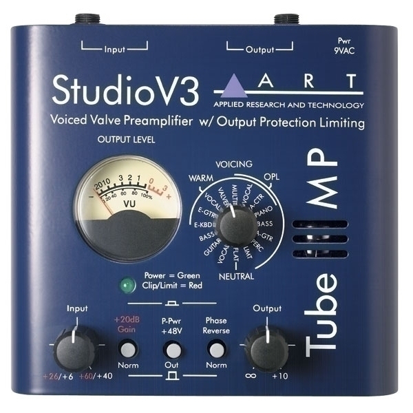 Préampli micros - Art - Tube MP studio V3