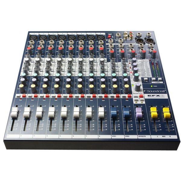 Consoles analogiques - Soundcraft - EFX 8