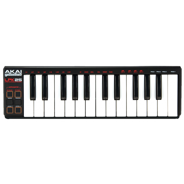 Claviers maitres compacts - Akai - LPK25