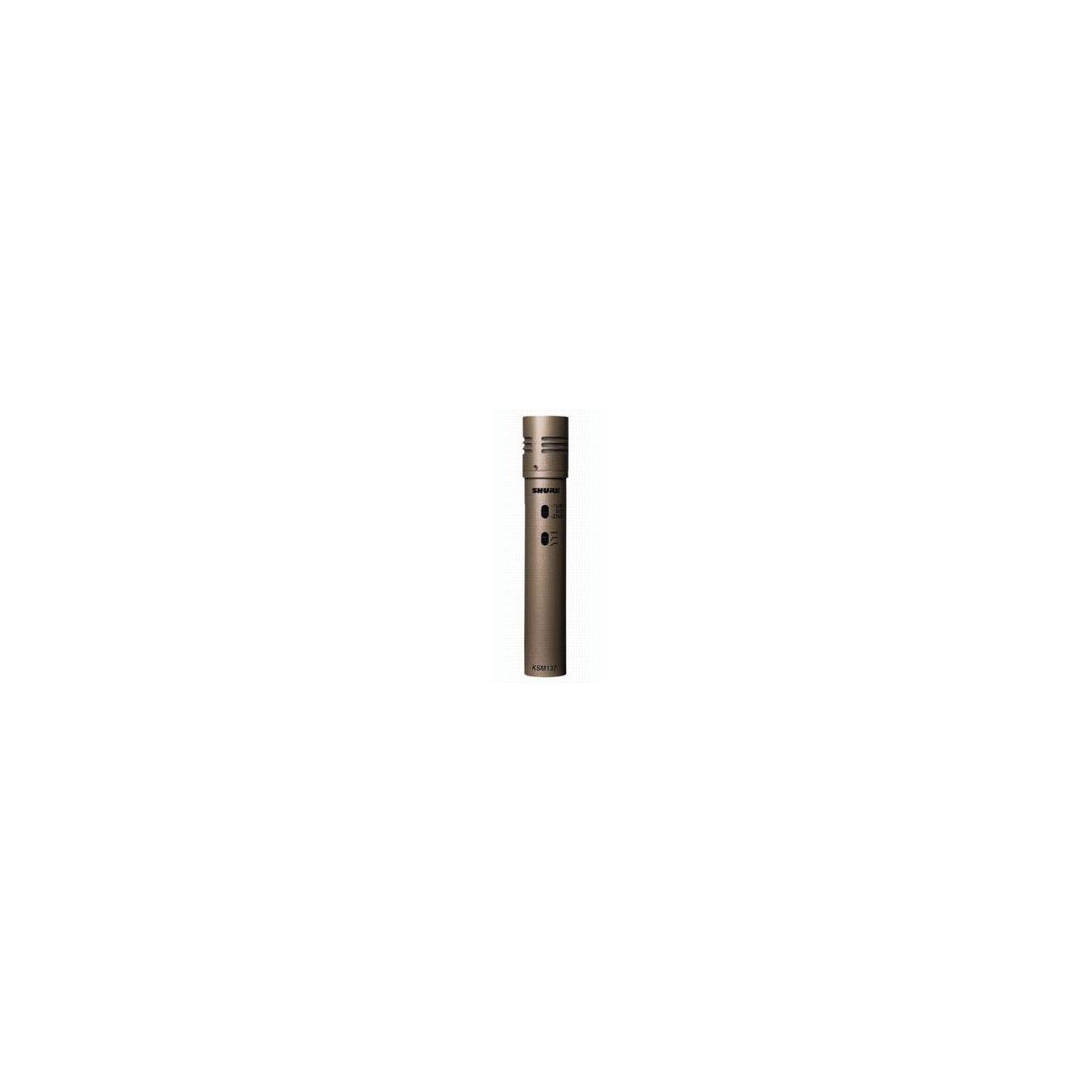 Micros instruments - Shure - KSM137 SL
