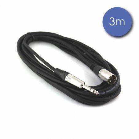 Câbles JACK / XLR - Power Acoustics - Accessoires - CAB 2028