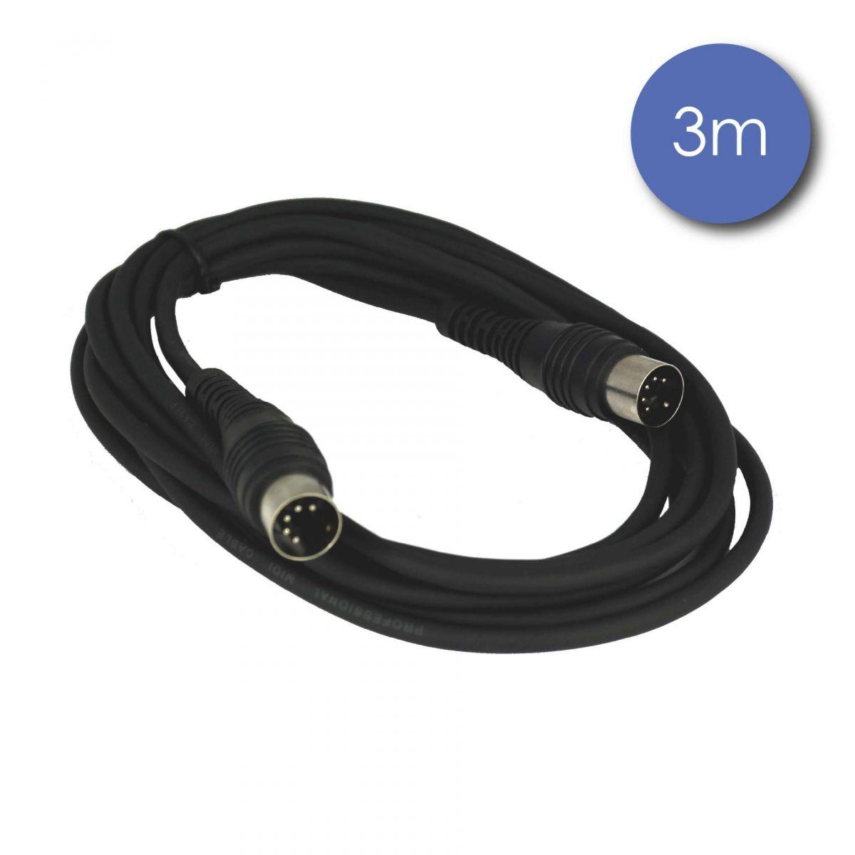 Câbles MIDI - Power Acoustics - Accessoires - CAB 2049