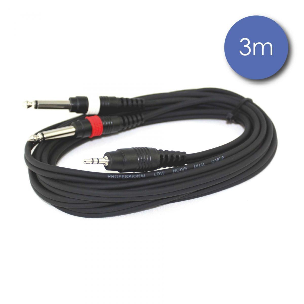 Câbles JACK / JACK - Power Acoustics - Accessoires - CAB 2065