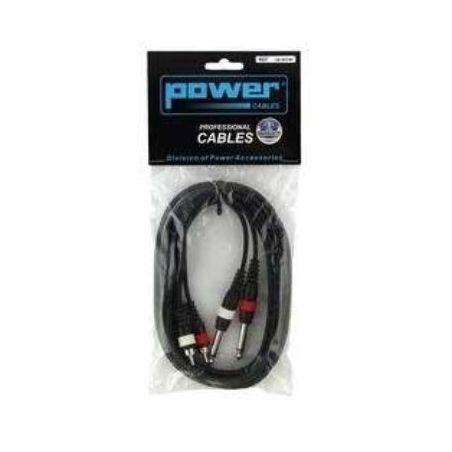 Câbles JACK / RCA - Power Acoustics - Accessoires - CAB 2073