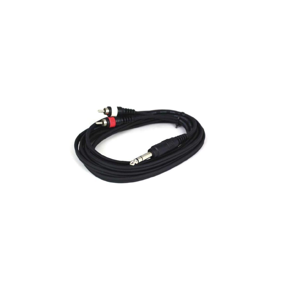 Câbles JACK / RCA - Power Acoustics - Accessoires - CAB 2080