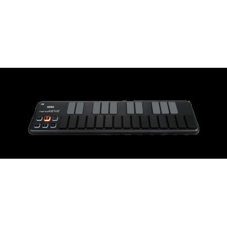 Controleurs midi USB - Korg - NANOKEY2 (Noir)