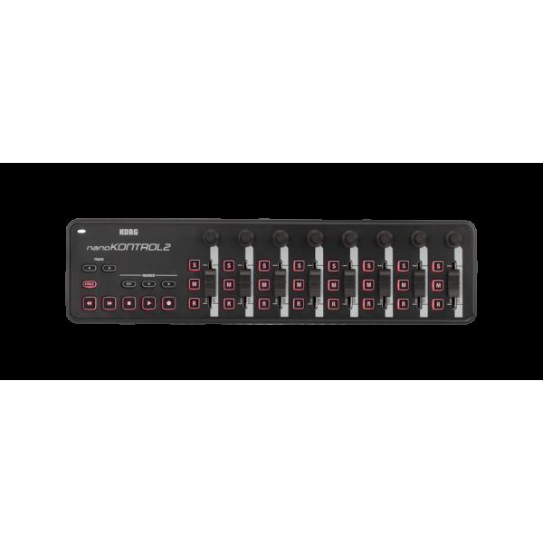 Controleurs midi USB - Korg - NANOKONTROL2 (Noir)