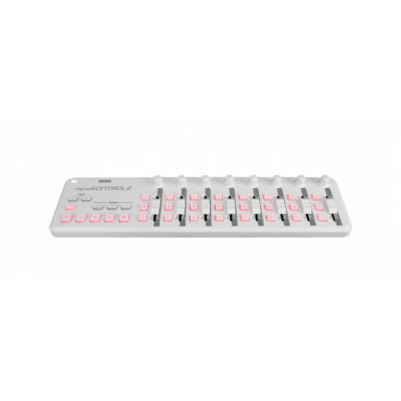 Controleurs midi USB - Korg - NANOKONTROL2 (Blanc)