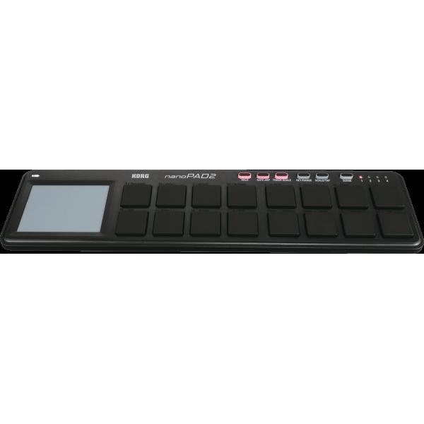 Controleurs midi USB - Korg - NANOPAD2 (noir)