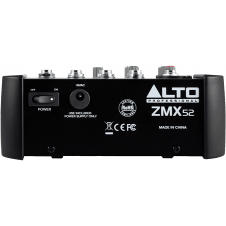 Consoles analogiques - Alto - ZMX52