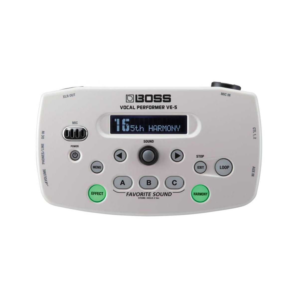 Multi-effets - Boss - VE-5-WH Vocal Performer