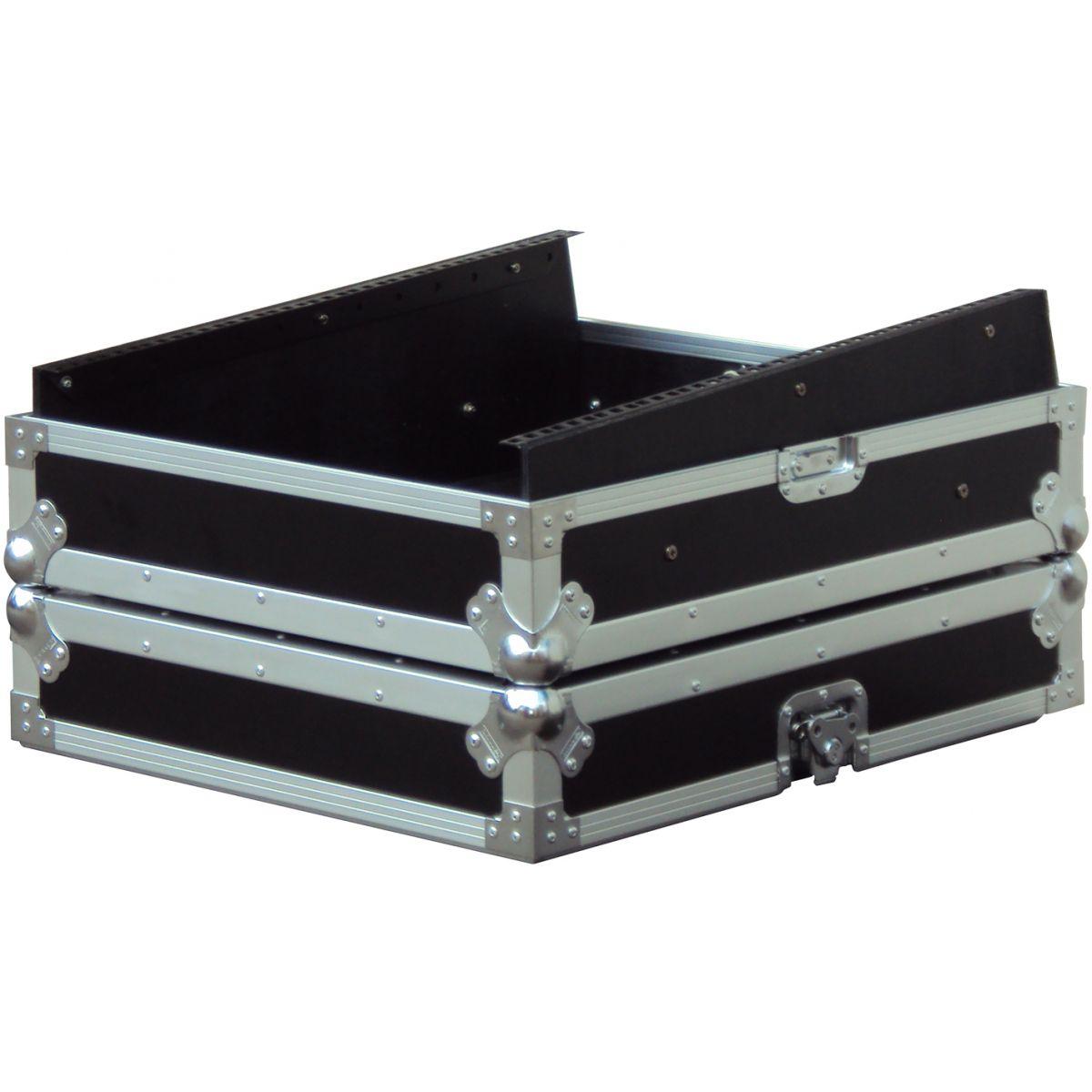 Flight cases bois consoles de mixage - Power Acoustics - Flight cases - FCM 19 YAMAHA