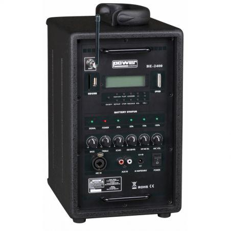 Sonos portables sur batteries - Power Acoustics - Sonorisation - BE2400