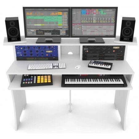 Mobilier home studio - Glorious DJ - WORKBENCH WHITE