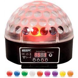 Jeux de lumière LED - Power Lighting - SPHERO LED MK2 noir