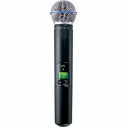 Micros chant sans fil - Shure - SLX2-BETA58A Emetteur Main