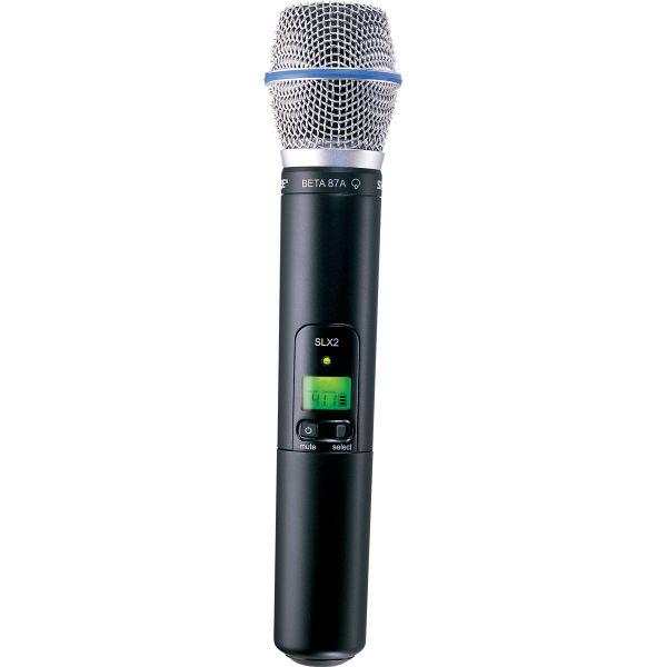 Micros chant sans fil - Shure - SLX2-BETA87A Emetteur Main