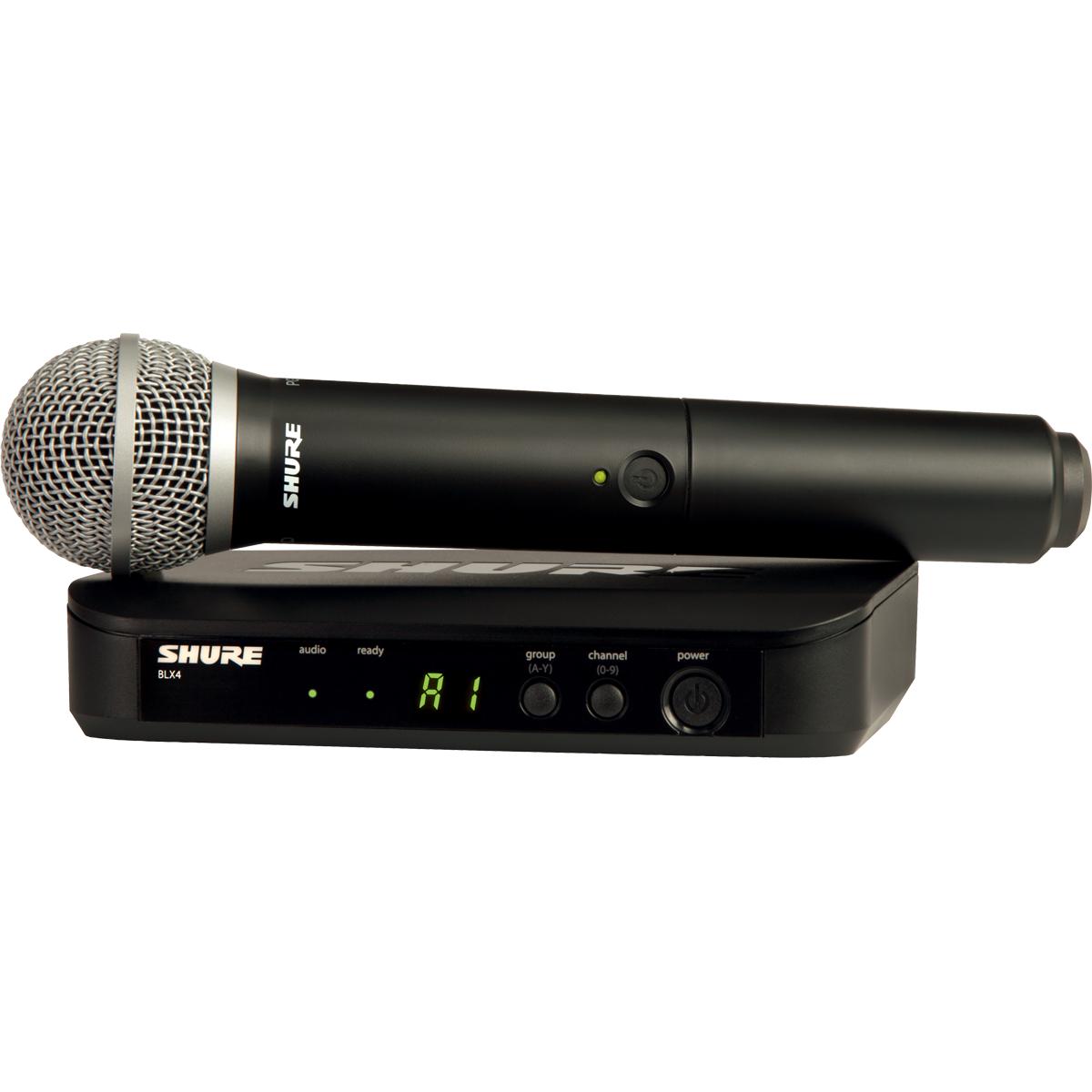 Micros chant sans fil - Shure - BLX24E-PG58-M17
