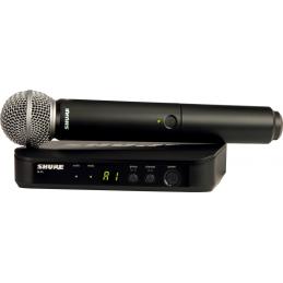 Micros chant sans fil - Shure - BLX24E-SM58-M17