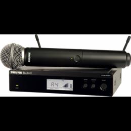 Micros chant sans fil - Shure - BLX24RE-SM58-M17
