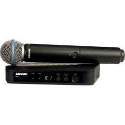 Micros chant sans fil - Shure - BLX24E-BETA58-M17