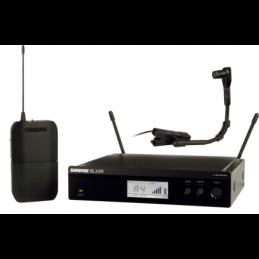 Micros instruments sans fil - Shure - BLX14RE-BETA98-M17