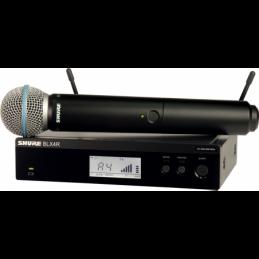 Micros chant sans fil - Shure - BLX24RE-BETA58-M17