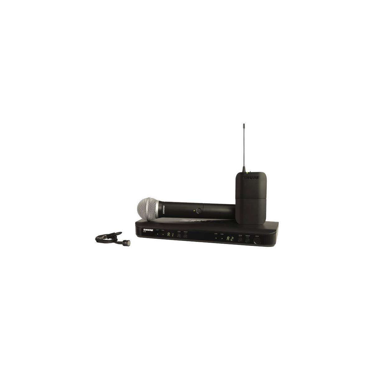 Micros chant sans fil - Shure - BLX1288-W85-M17