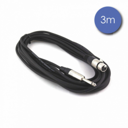 Câbles JACK / XLR - Power Acoustics - Accessoires - CAB 2024