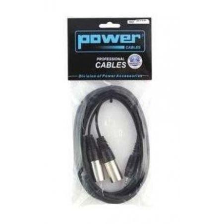 Câbles JACK / XLR - Power Acoustics - Accessoires - CAB 2119