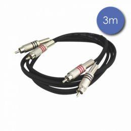 Câbles RCA / RCA - Power Acoustics - Accessoires - CAB 2075