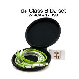 Câbles RCA / RCA - Oyaide - D+ Class B DJ SET 1M
