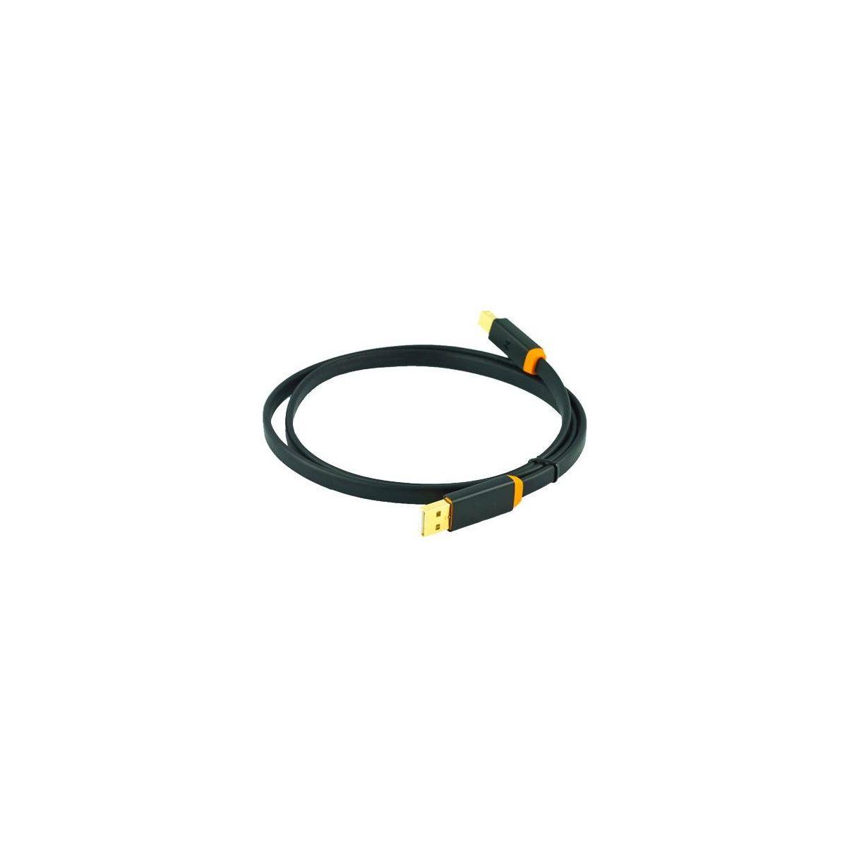 Câbles USB A vers B - Oyaide - D+ Class A USB 1M