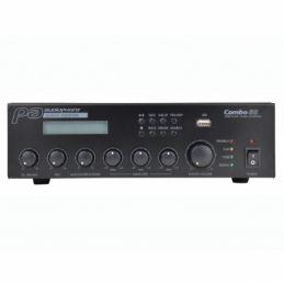 Ampli multicanaux et ligne 100V - Audiophony - COMBO60
