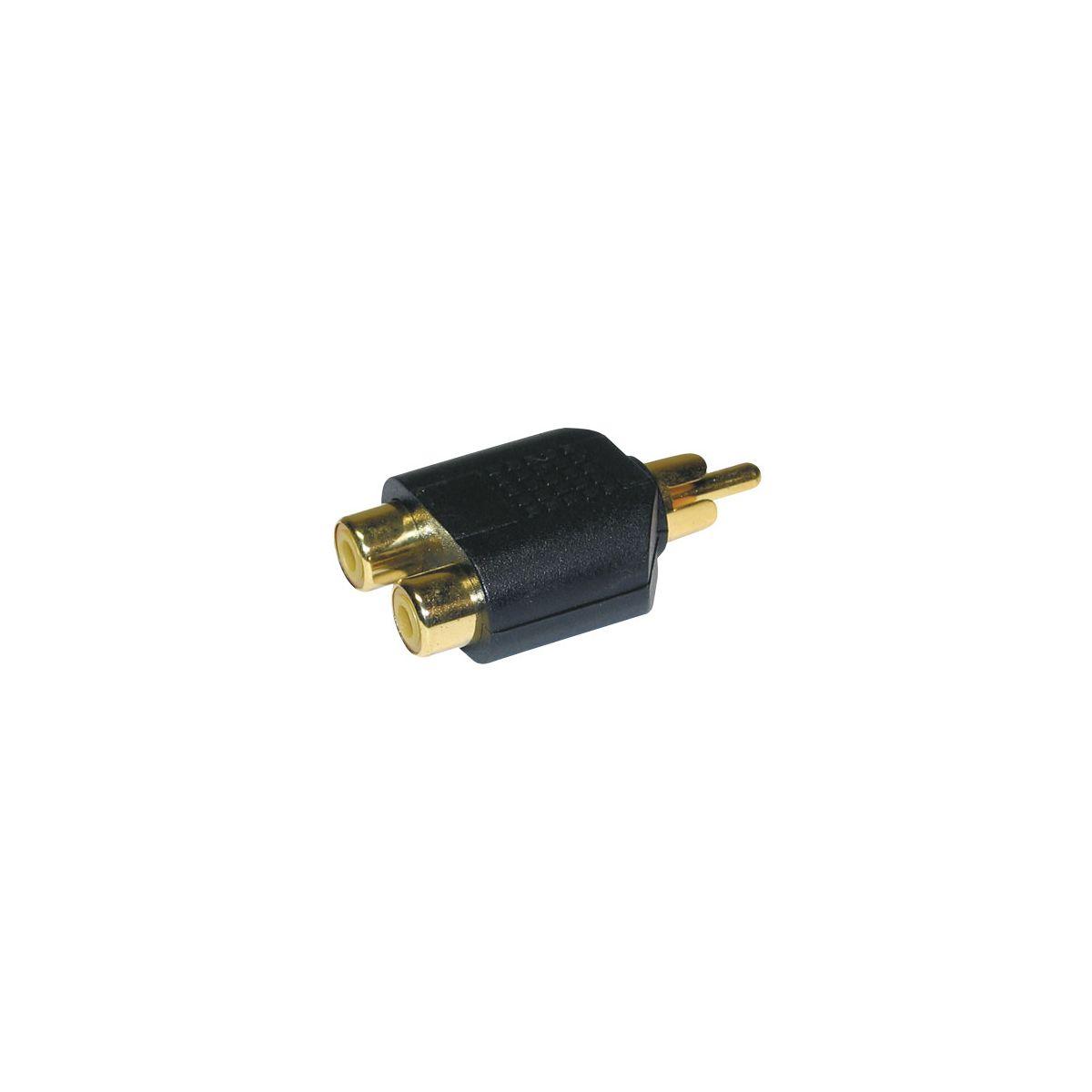 Adaptateurs - Energyson - Adaptateur 2 RCA femelle...
