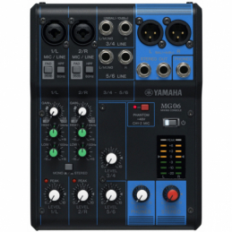 Consoles analogiques - Yamaha - MG06
