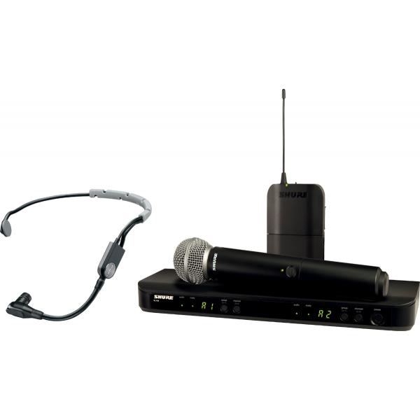 Micros serre-tête sans fil - Shure - BLX1288E-SM35-M17