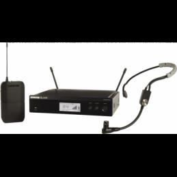 Micros serre-tête sans fil - Shure - BLX14RE-SM35-M17