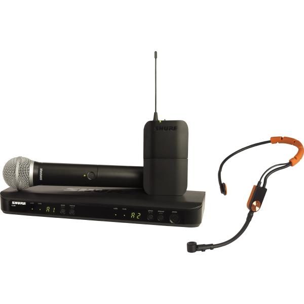 Micros serre-tête sans fil - Shure - BLX1288E-SM31-M17
