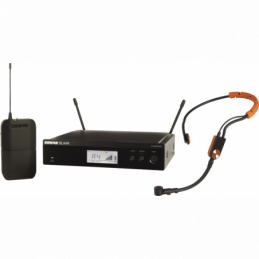 Micros serre-tête sans fil - Shure - BLX14RE-SM31-M17