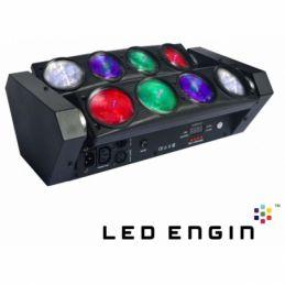 Jeux de lumière LED - Power Lighting - SPIDER LED 96W RGBW QUAD