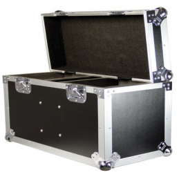 Flight cases éclairage - Power Acoustics - Flight cases - FC MINI LYRE TWIN