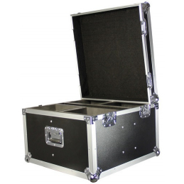Flight cases éclairage - Power Acoustics - Flight cases - FC MINI LYRE QUAD