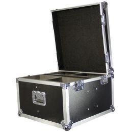 Flight cases éclairage - Power Acoustics - Flight cases - FC MINI LYRE QUAD