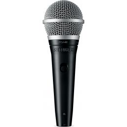 Micros chant - Shure - PGA48 XLR