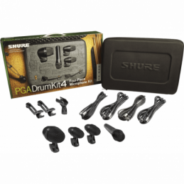 Kits micros batteries - Shure - PGA DRUM KIT 4