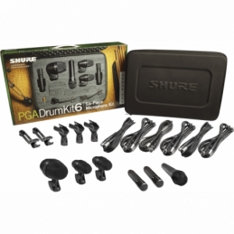 Kits micros batteries - Shure - PGA DRUM KIT 6