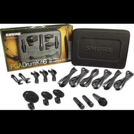 Kits micros batteries - Shure - PGA DRUM KIT 6