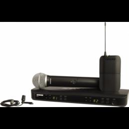 Micros chant sans fil - Shure - BLX1288E-CVL-M17