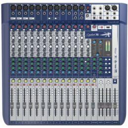 Consoles analogiques - Soundcraft - SIGNATURE 16